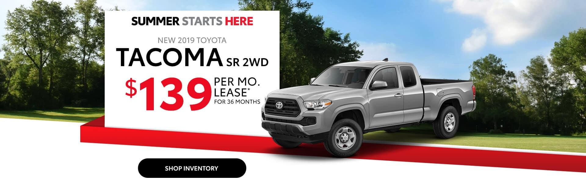 Best Deal on a Toyota Tacoma near Avon, Indiana.