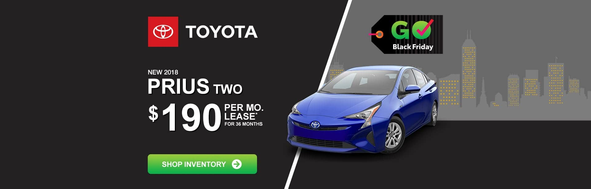 Toyota Prius Lease Special near Columbus, Indiana