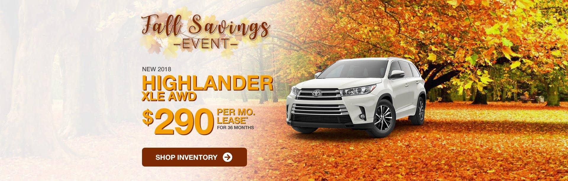 2018 Toyota Highlander Lease Special Near Greenwood, Indiana