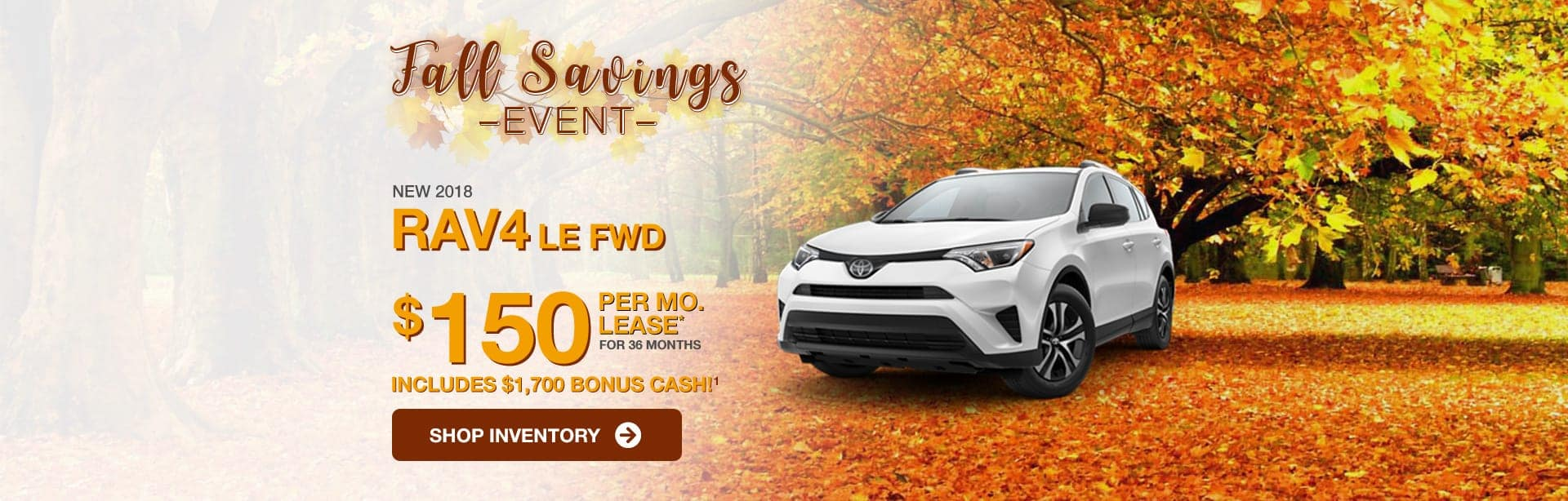 Toyota RAV4 Lease Special near Indianapolis