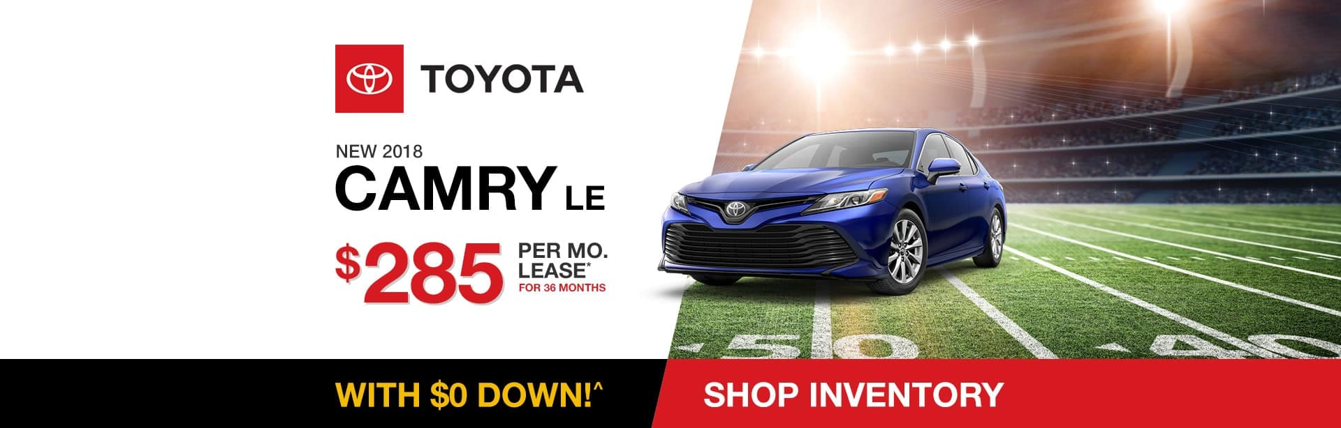 Toyota Camry Lease Special near Indianapolis, Indiana