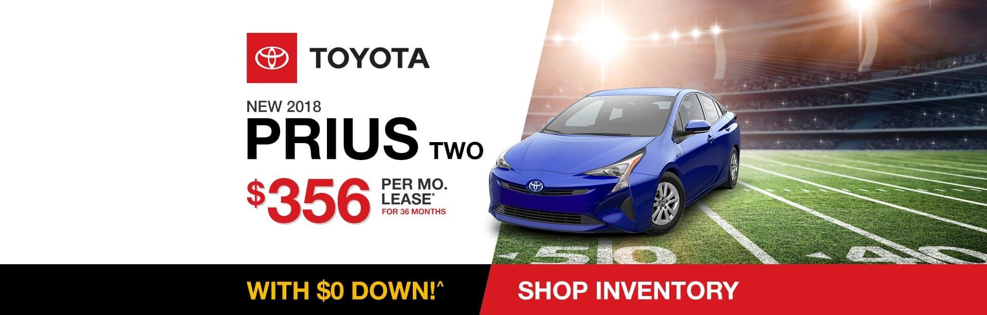 Toyota Prius Lease Special near Columbus, Indiana