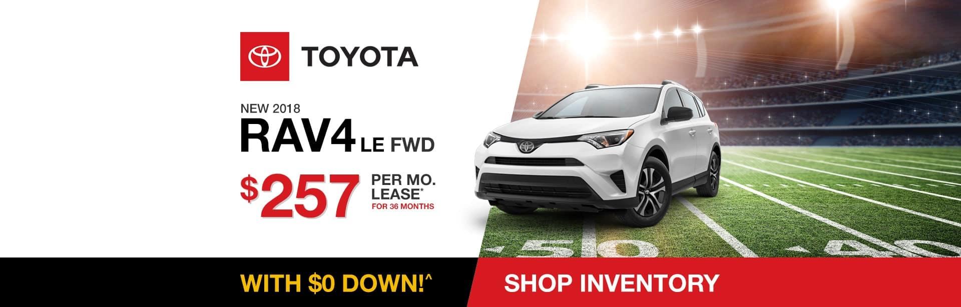 Toyota RAV4 Lease Special near Indianapolis