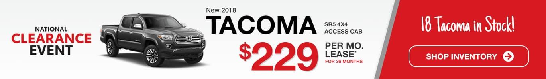 Indianapolis Toyota Tacoma Inventory
