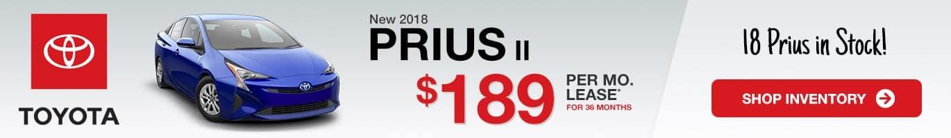 Indianapolis Toyota Prius II Inventory