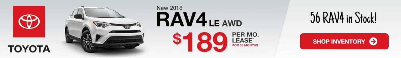Indianapolis Toyota RAV4 Inventory