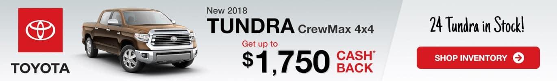 Indianapolis Toyota Tundra Inventory