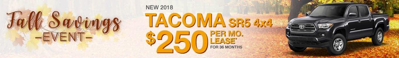 2018 Toyota Tacoma Inventory near Avon, Indiana.