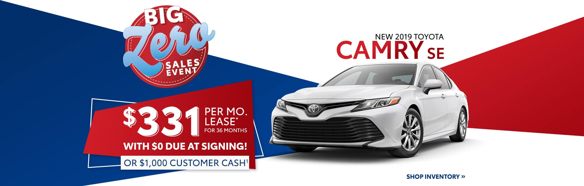 Lease a New Toyota Camry near Indianapolis, IN.