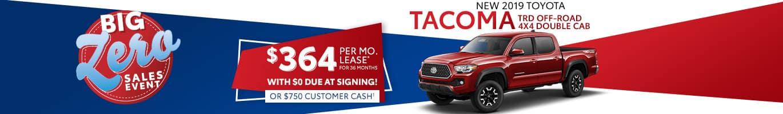 Toyota Tacoma Inventory near Avon, Indiana.