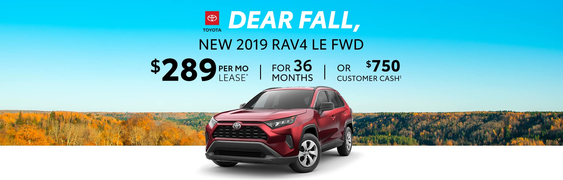 Best Deal on a New RAV4 near Franklin, Indiana.