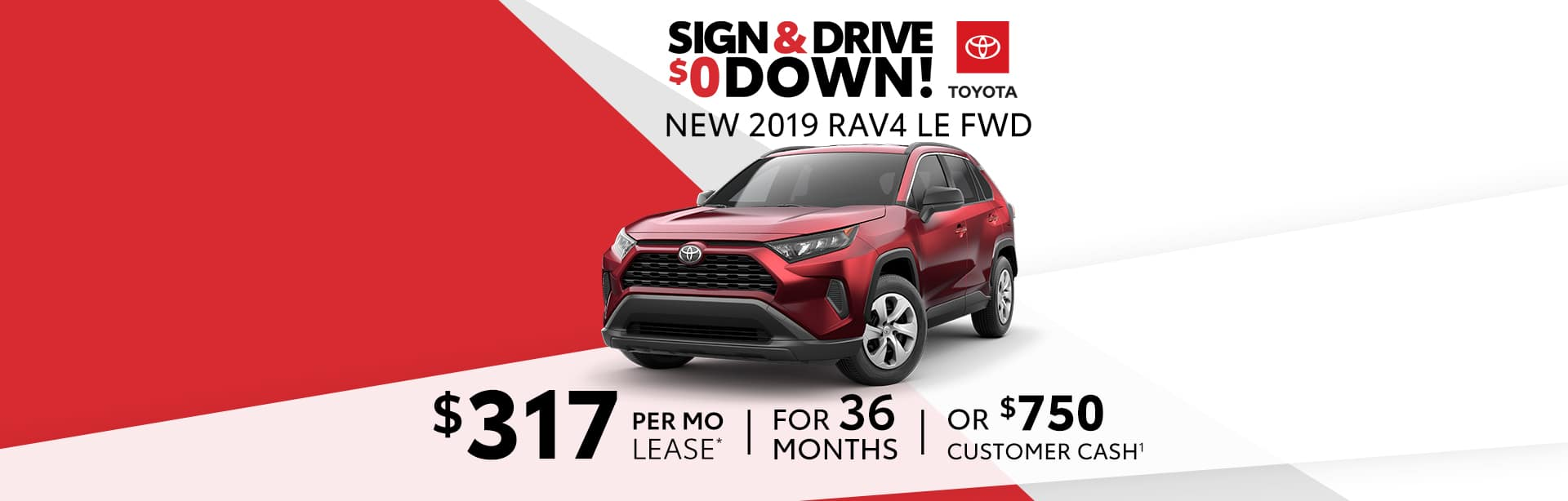 Best Deal on a New RAV4 near Franklin, Indiana.
