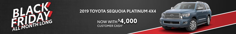 Toyota Sequoia Inventory near Indianapolis, Indiana.
