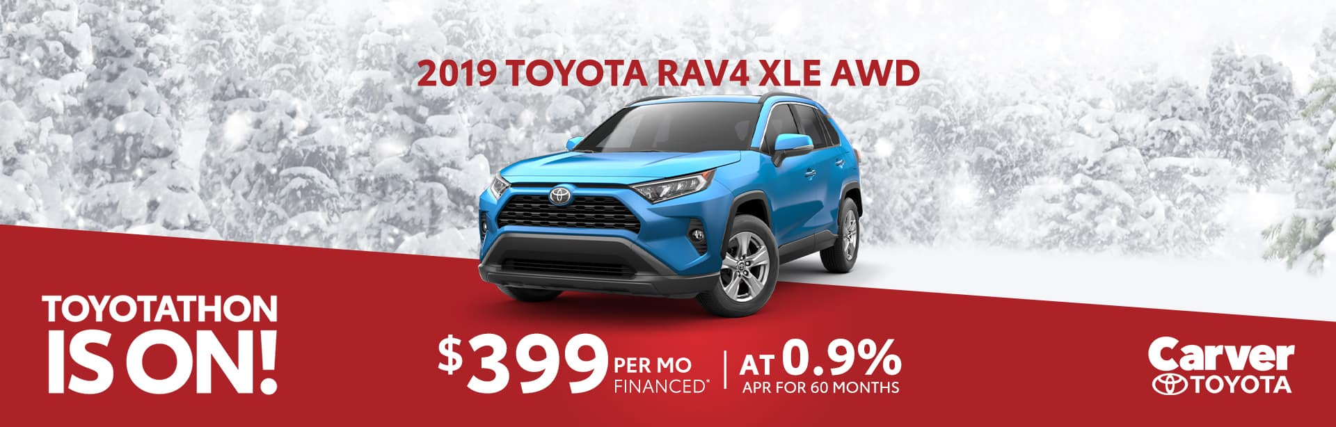 Finance a Rav4 and pay $399 a month in Taylorsville, Indiana