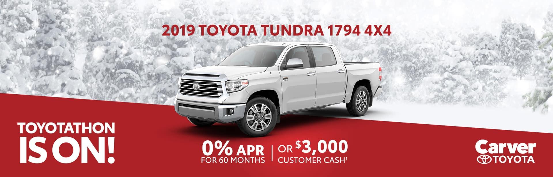 Finance a New Tundra for 0% near Columbus, Indiana