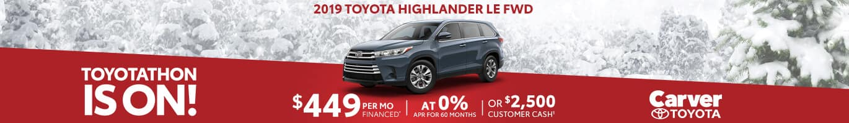Toyota Highlander Inventory near Greenwood, Indiana.