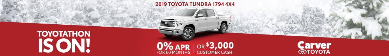 New Toyota Tundra Inventory near Franklin, Indiana.