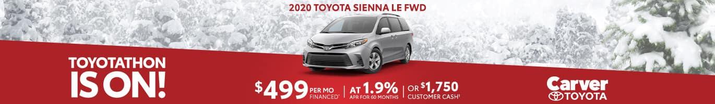 2020 Toyota Sienna Dealer near Avon, Indiana.