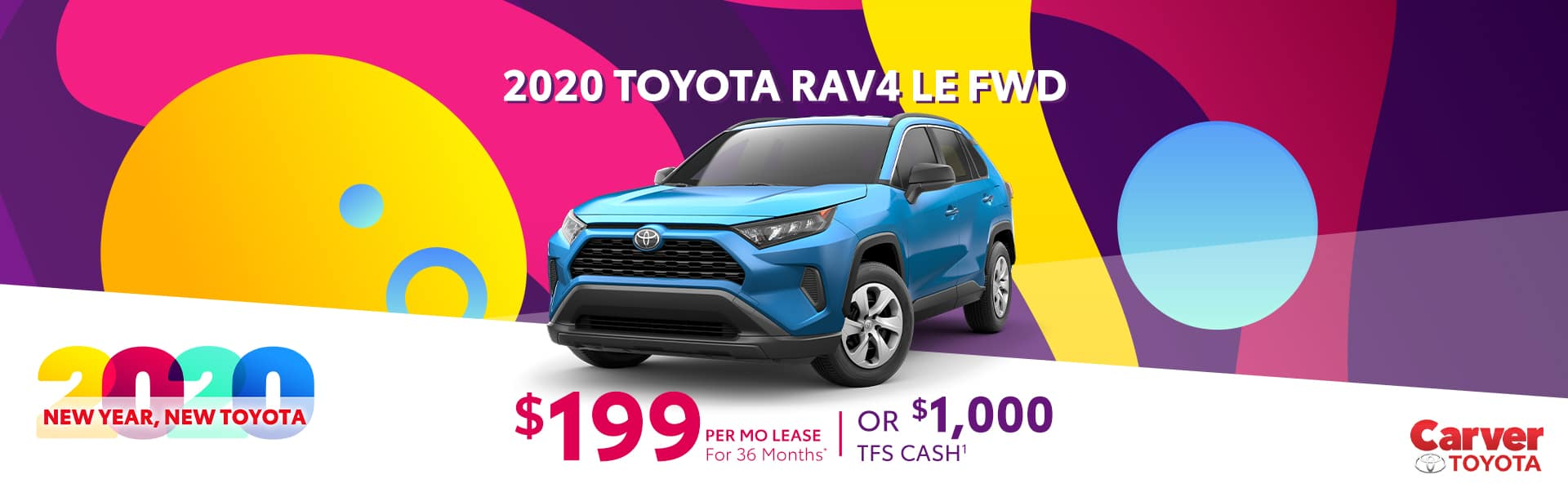 Lease a Rav4 and pay $199 a month in Taylorsville, Indiana