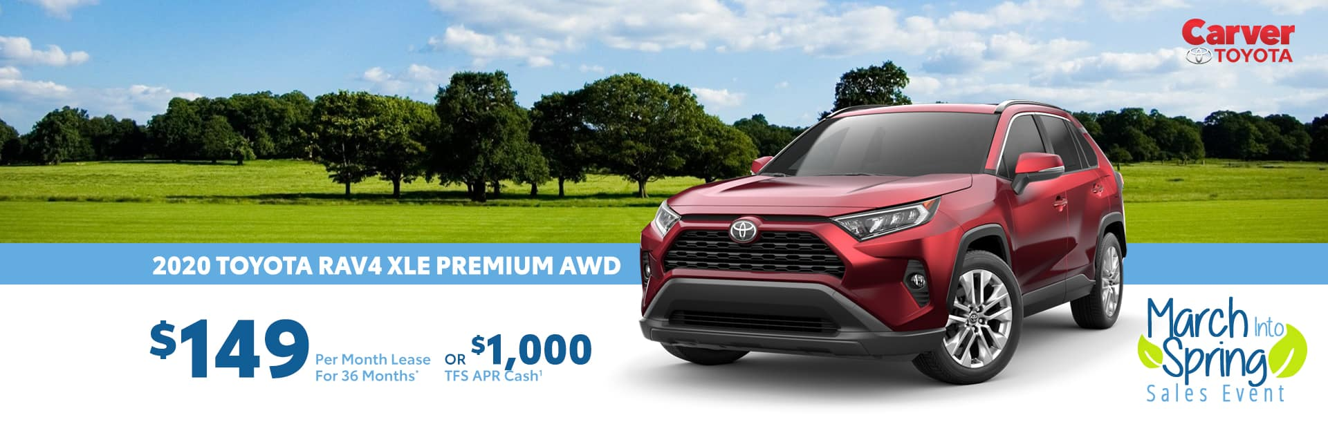 Lease a Rav4 and pay $149 a month in Taylorsville, Indiana