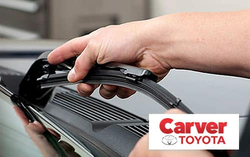 Toyota Wiper Blade Savings