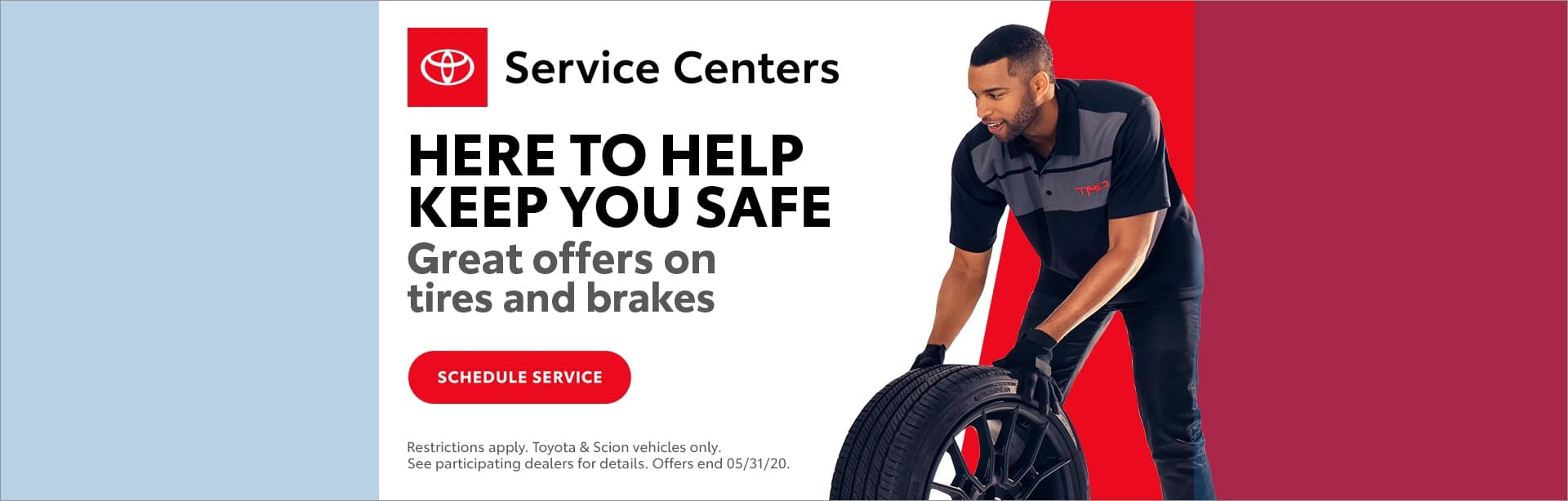 We're here to keep you safe at Carver Toyota