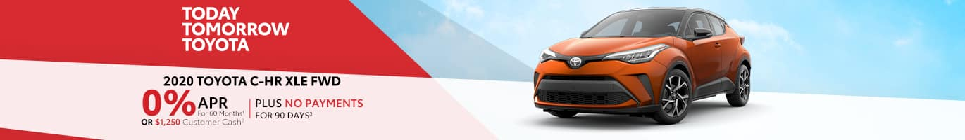 Finance a new C-HR for 0% near Shelbyville, Indiana
