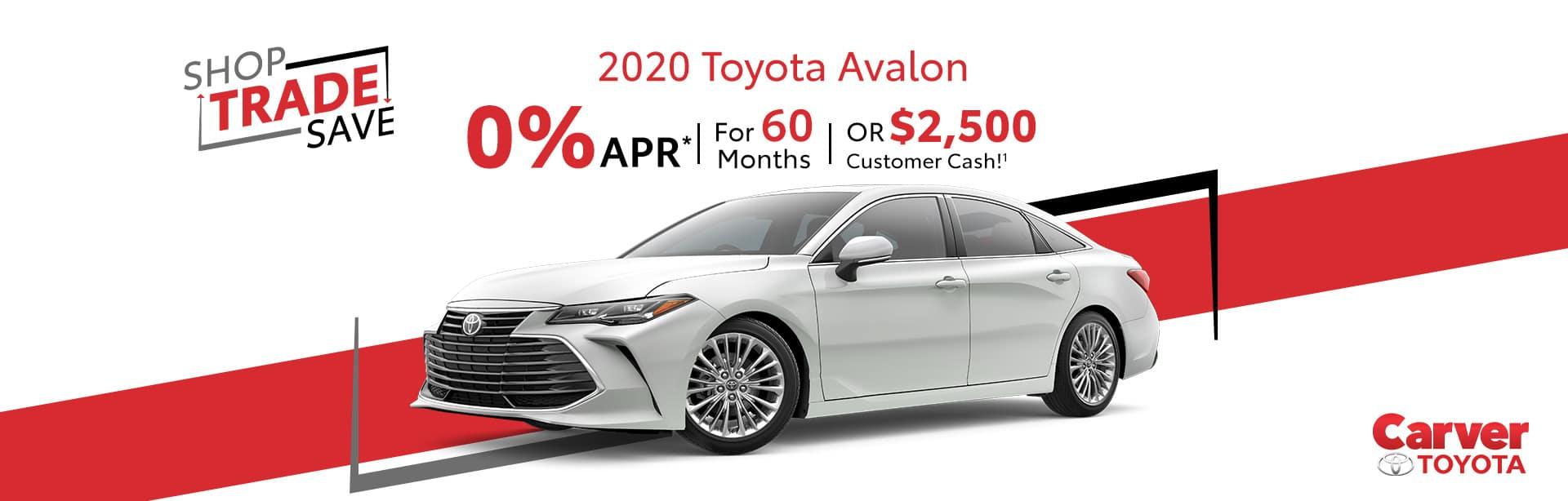 Toyota Avalon Inventory near Greensburg, Indiana