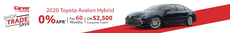 Toyota Avalon Hybrid Inventory near Greensburg, Indiana
