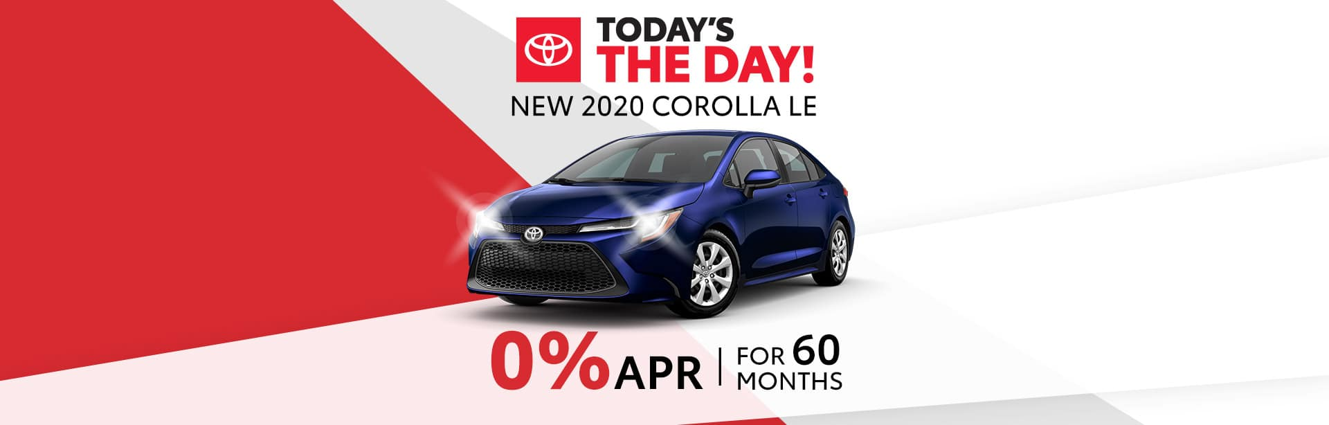 Finance a 2020 Corolla for 0% near Indianapolis, Indiana