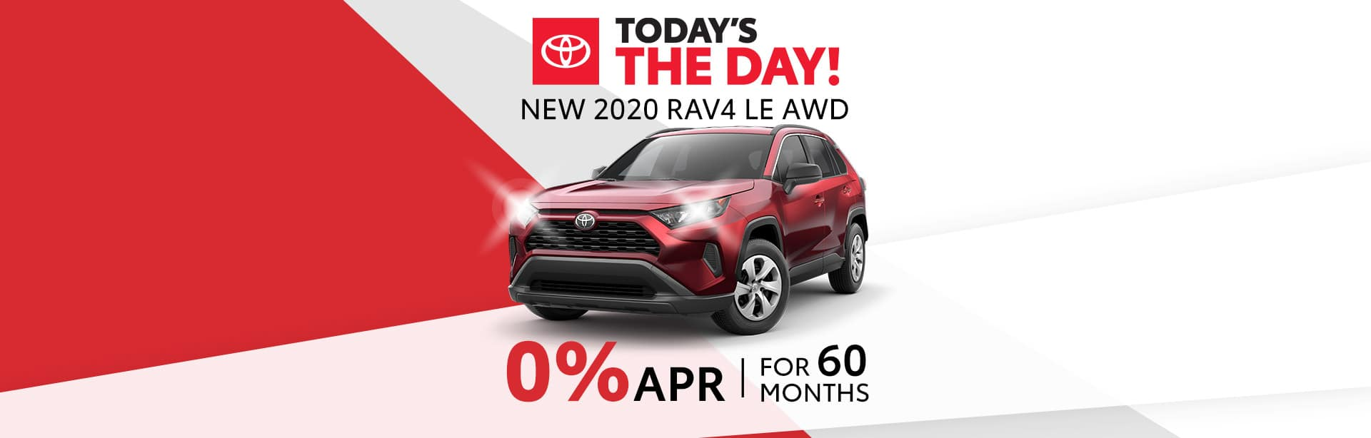 Finance Special on a new RAV4 in Columbus, Indiana