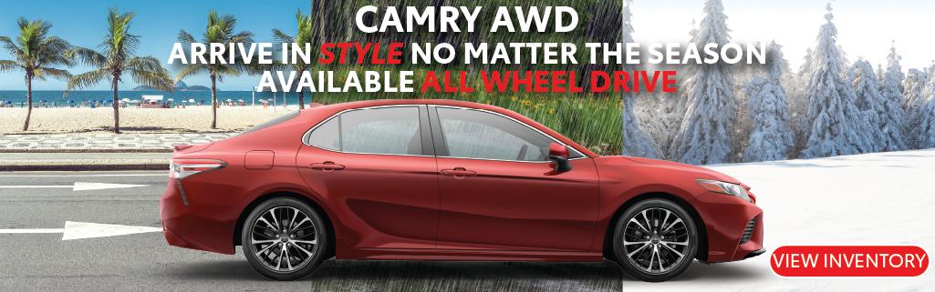 Carver Toyota Camry AWD