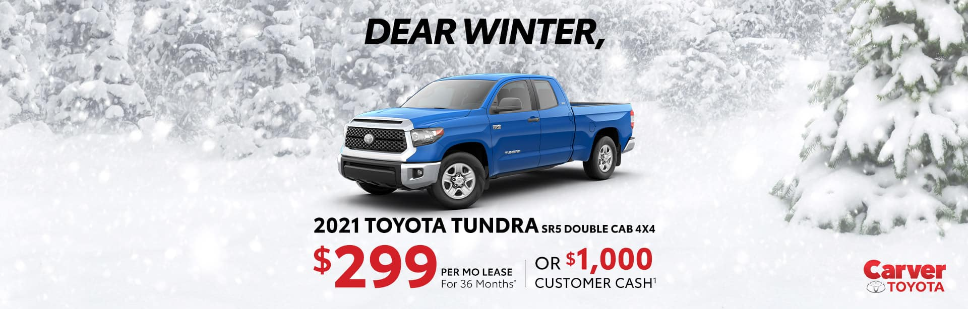 Best lease price on a new 2021 Toyota Tundra near Talorsville IN