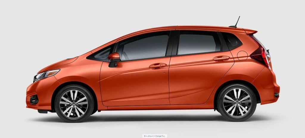 Honda Fit Side View