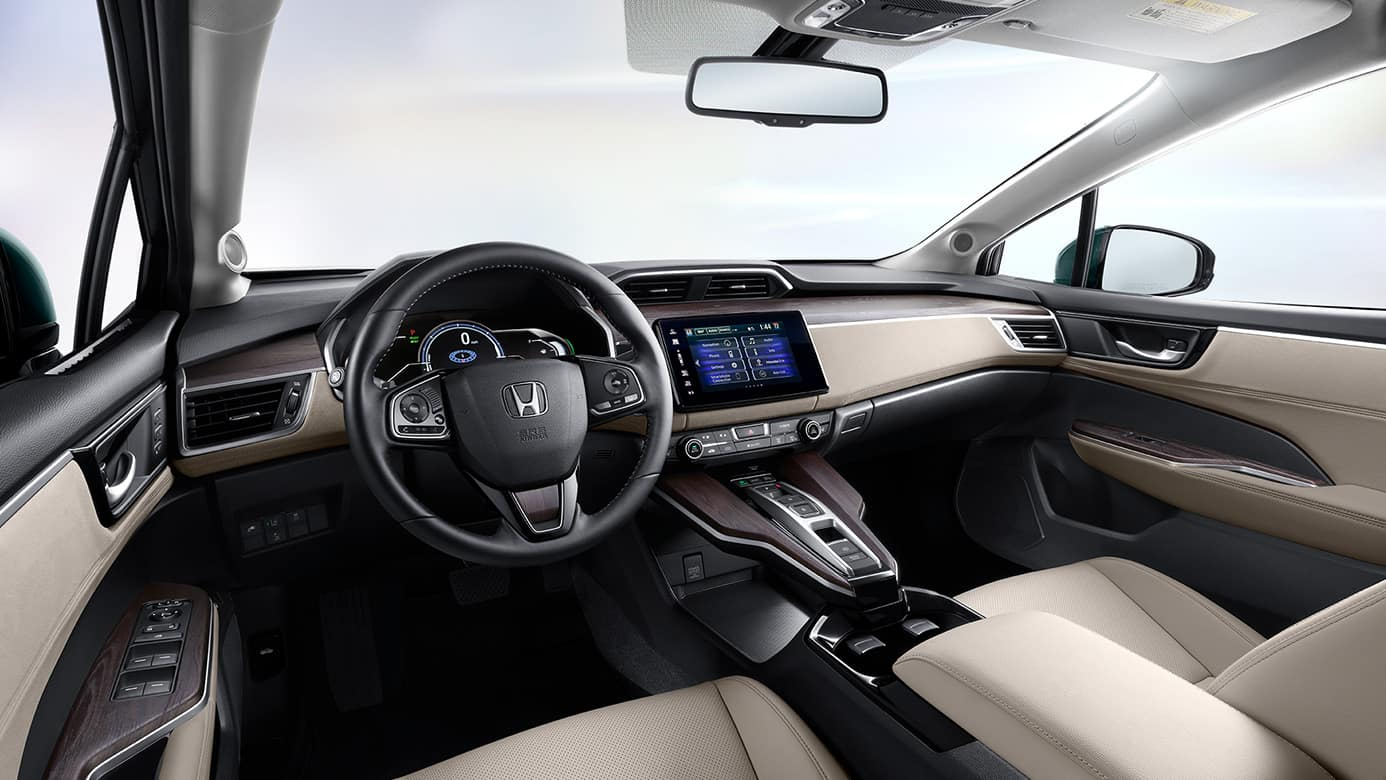 New 2018 Honda Clarity Interior