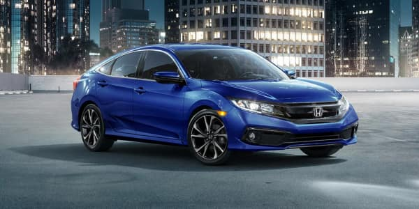 New 2019 Honda Civic car information in Morton Grove, IL