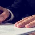 Financing paperwork