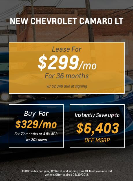Camaro Mobile April 2018