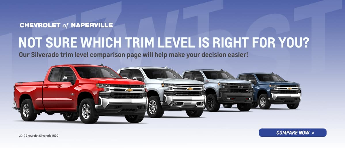 Which Chevrolet Silverado Trim Level Is Right For You? Find Out Online Now!