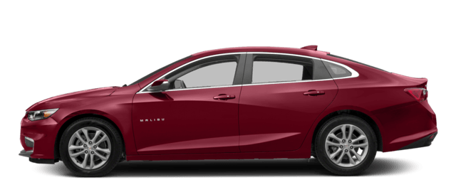 2017 Chevy Malibu Cajun Red Hybrid Trim