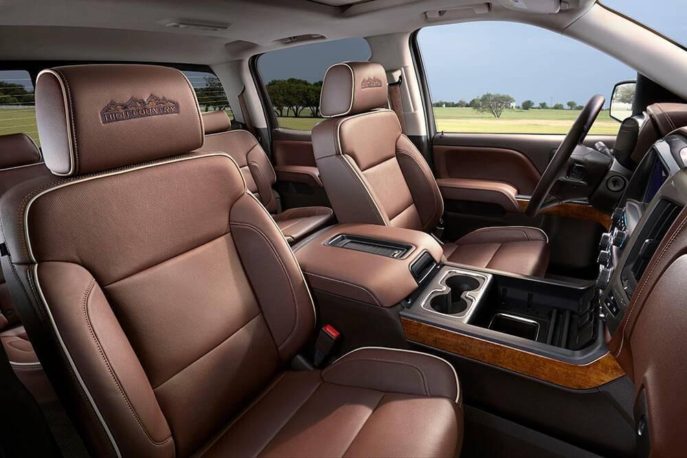 Gmc High Country 2017 >> 2017 Chevy Silverado 1500 High Country Interior Gallery Chevrolet