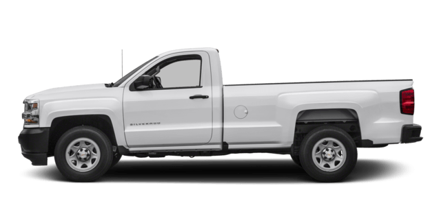2017 Chevy Silverado Summit White WT Trim