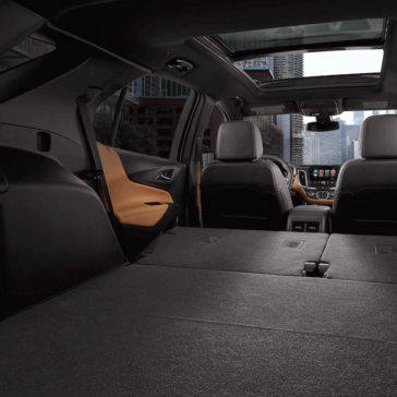 2018 Chevy Equinox storage