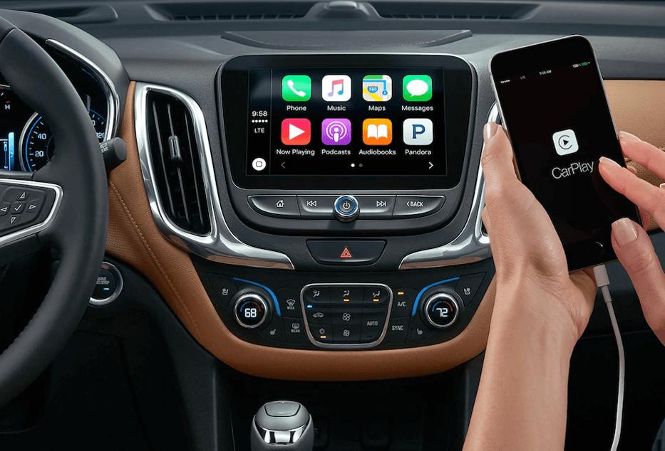 2018-Chevy Equinox apple carplay