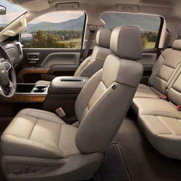 2018 Chevy Silverado 1500 Leather seating