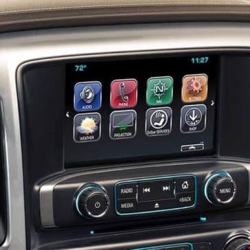 2018 Chevy Silverado 1500 display