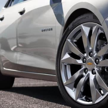 2018 Chevrolet Malibu wheels