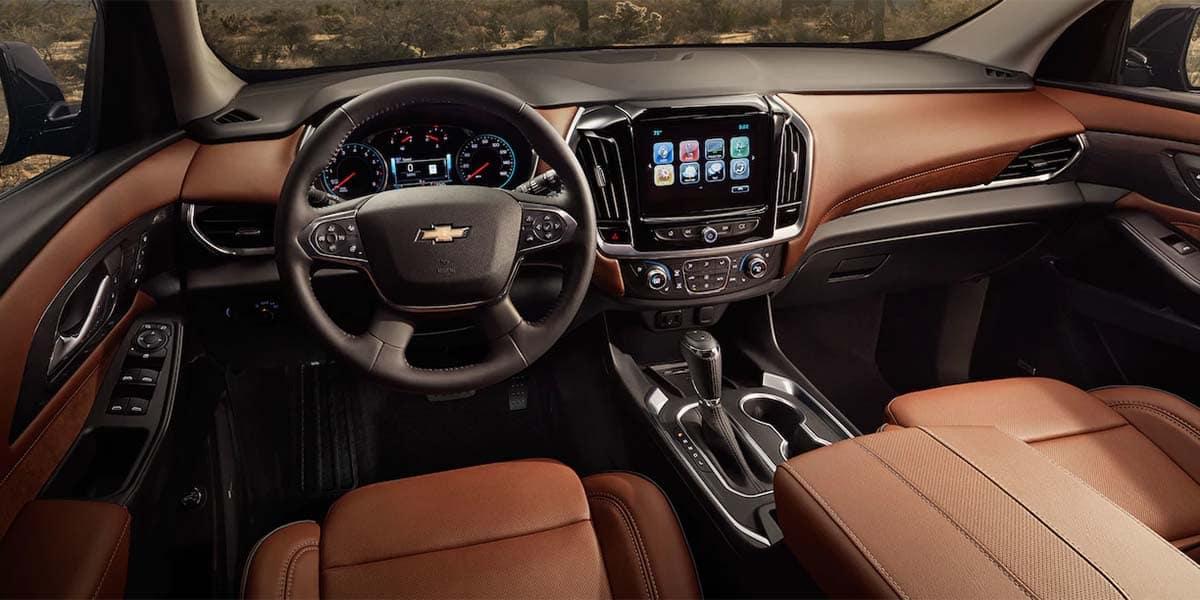 2018 Chevrolet Traverse Interior. 2018 Chevrolet Traverse