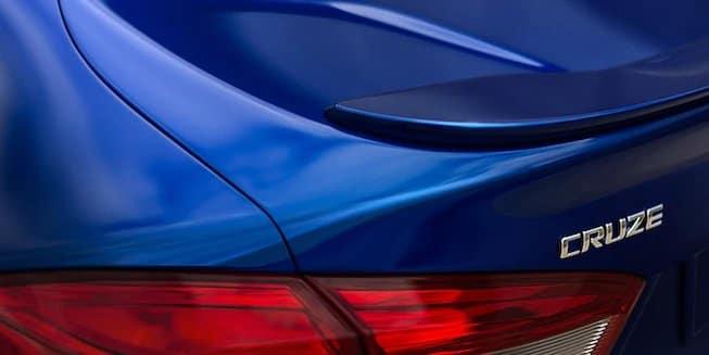 2018 Chevrolet Cruze spoiler