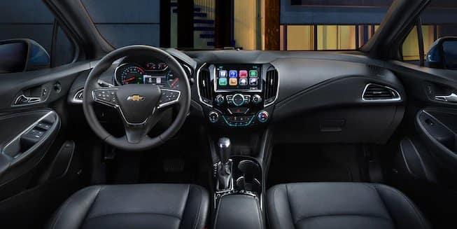 2018 Chevrolet Cruze dashboard